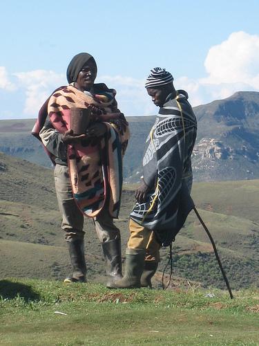 Lesotho pair