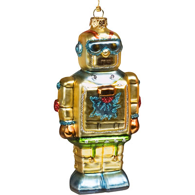 Gold robot