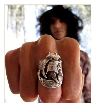F&J galleon ring