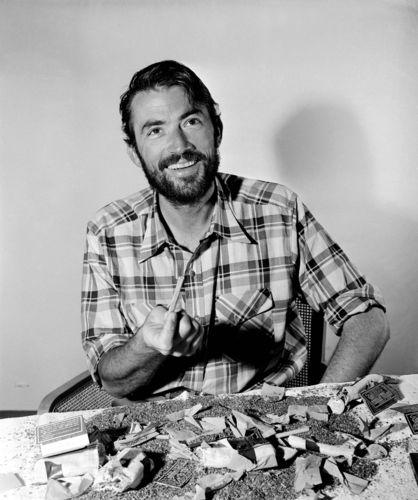Gregory peck beard