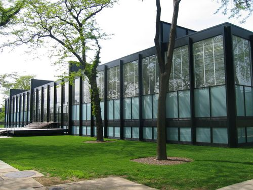 Mies crown hall