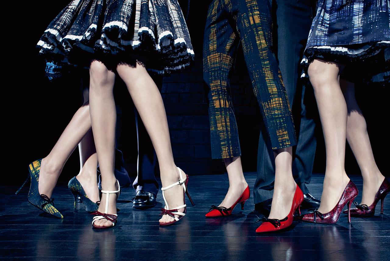 Prada a:w 2010 kitten heels