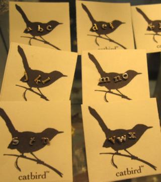 Catbird letters